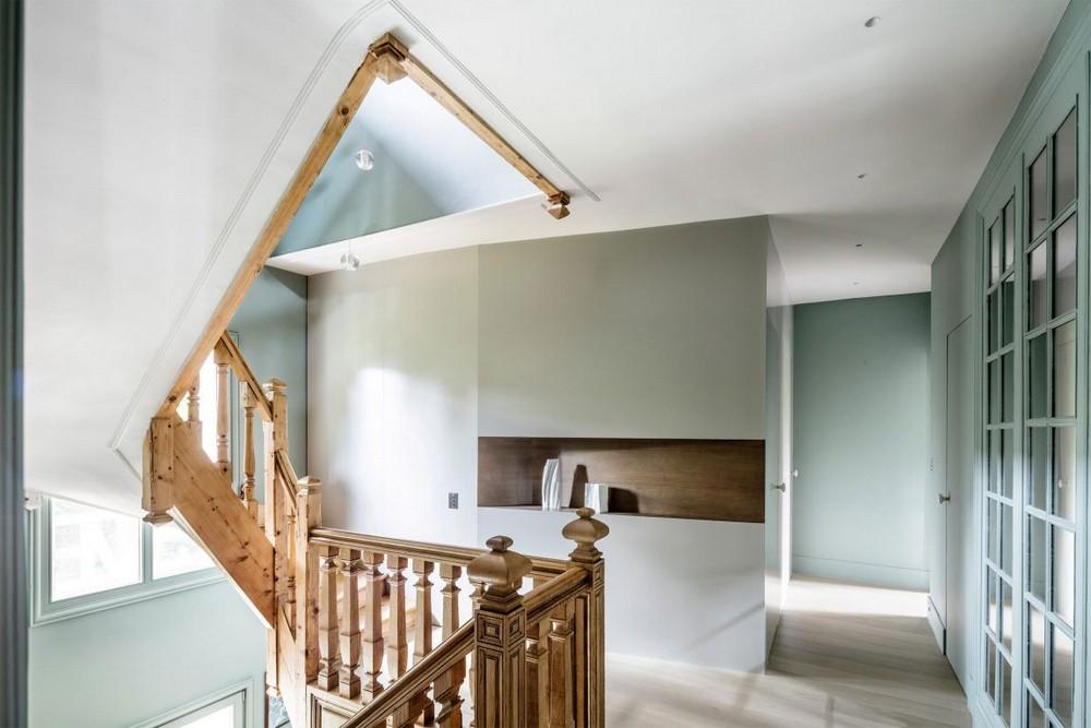 Дом 19 века был превращён в современное жильё