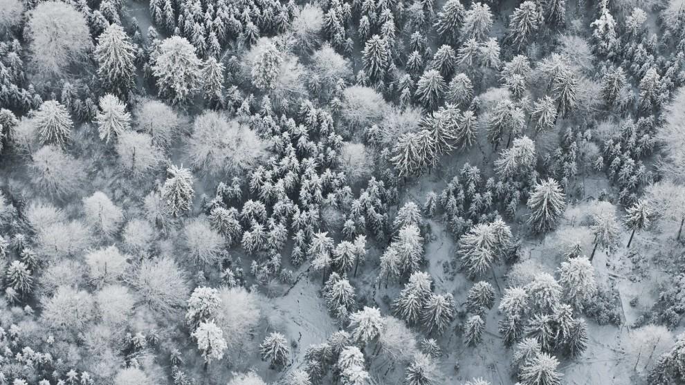 Уютные зимние пейзажи