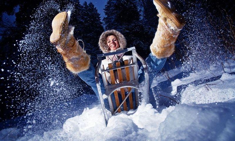 Забавные зимние кадры