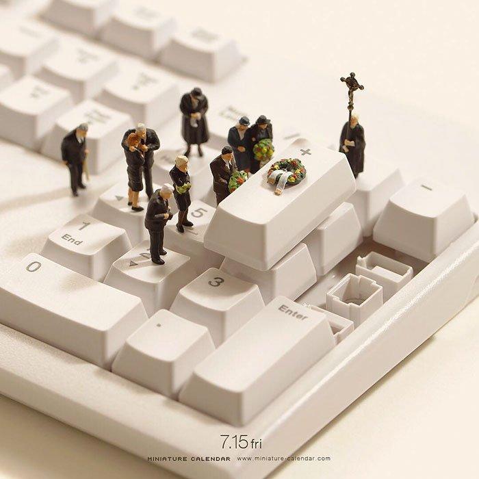 Очаровательные миниатюры от японского художника Тацуя Танака