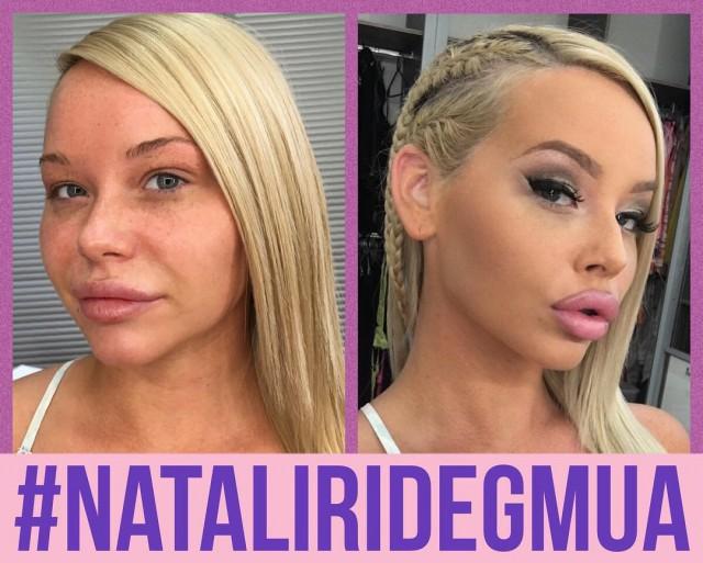 Европейские порноактрисы и магия макияжа