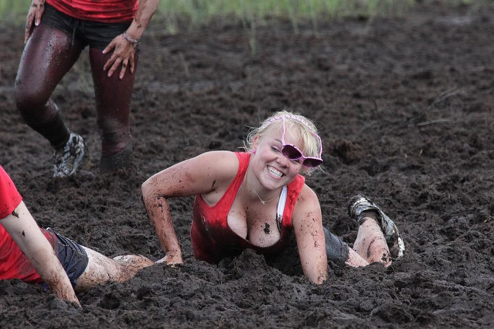 Веселый женский спорт