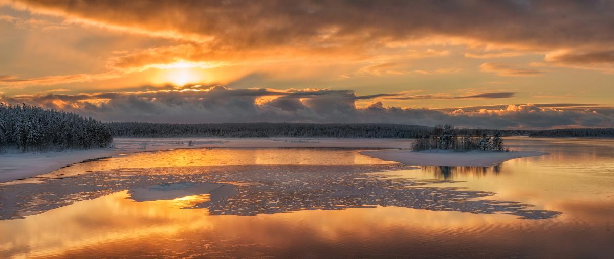 Замечательные пейзажи от Андрея Грачева