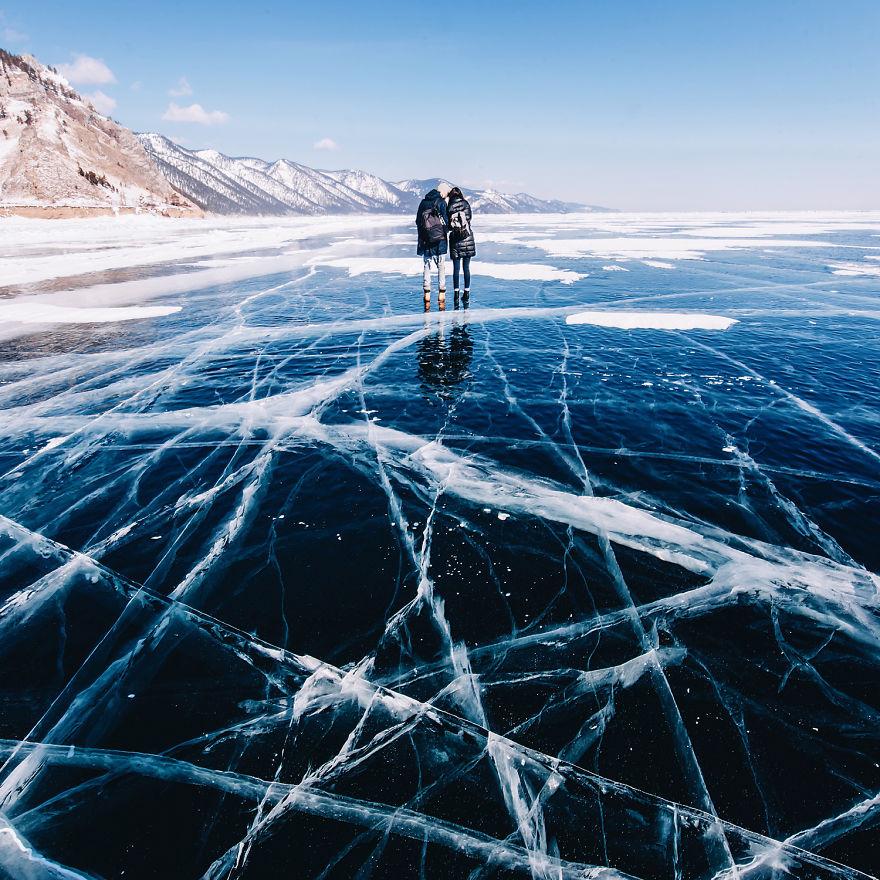 Зимний Байкал в фотографиях Кристины Макеевой