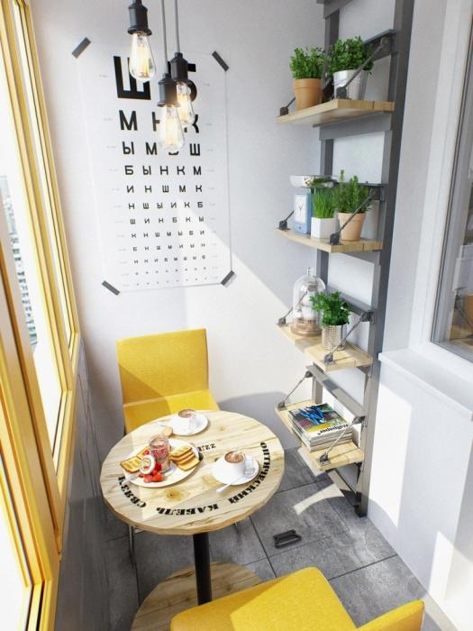 15 идей для маленькой лоджии, которые сделают ее самой уютной комнатой в доме