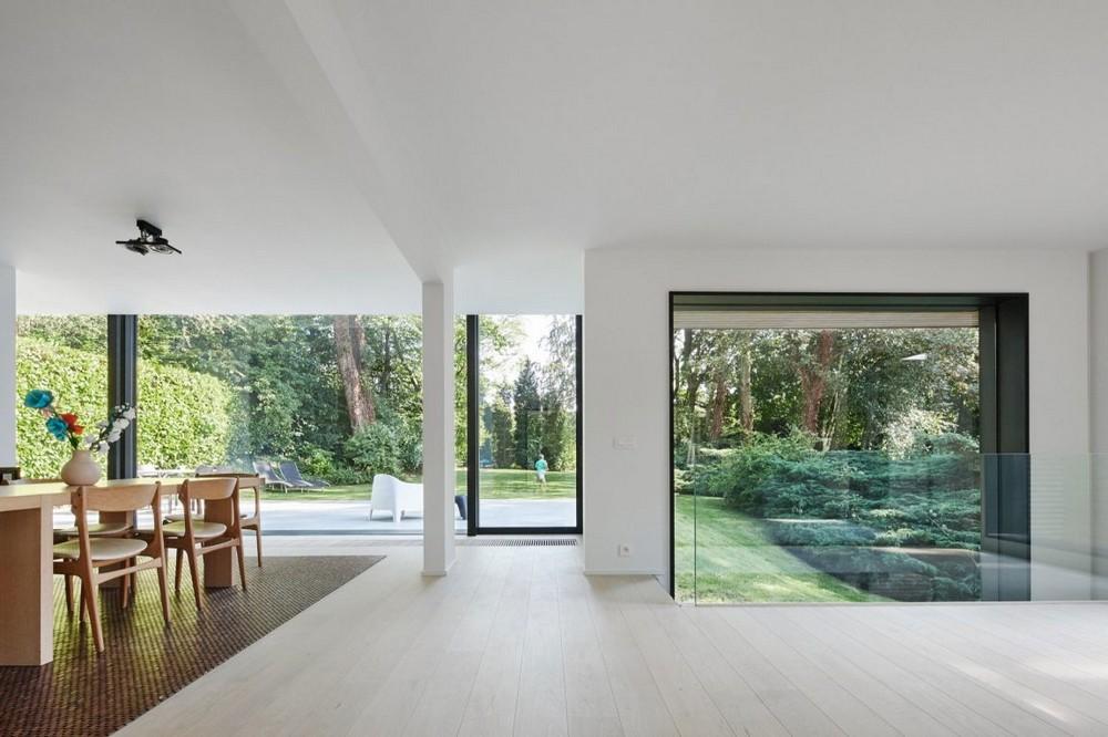 Красивый загородный дом в Бельгии