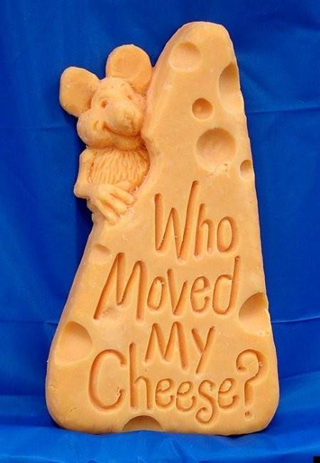 Скульптуры из сыра чеддер