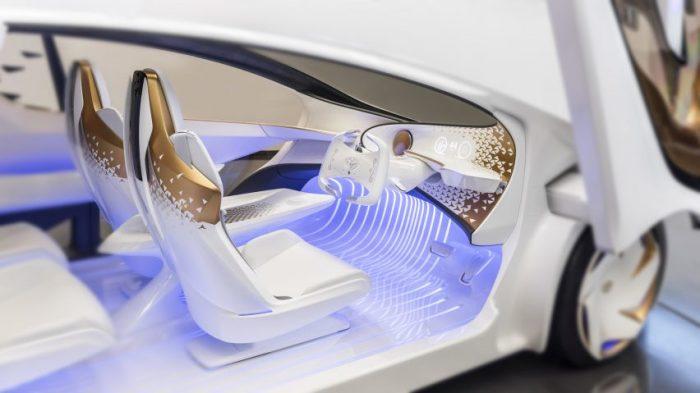 Компания Toyota показала автомобиль с искусственным интеллектом