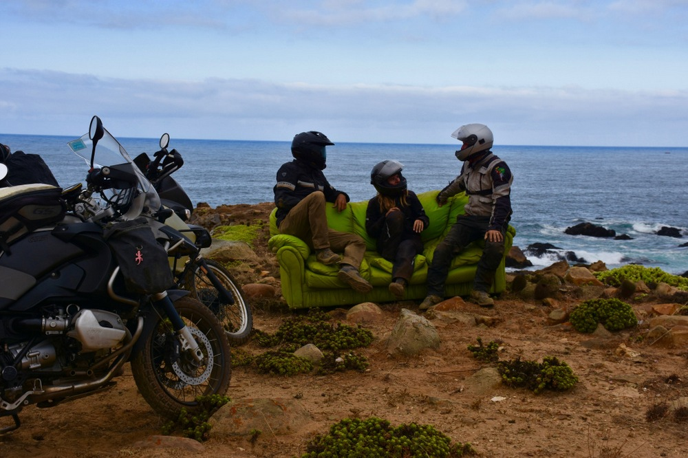 Молодожены провели семь месяцев путешествуя на мотоцикле