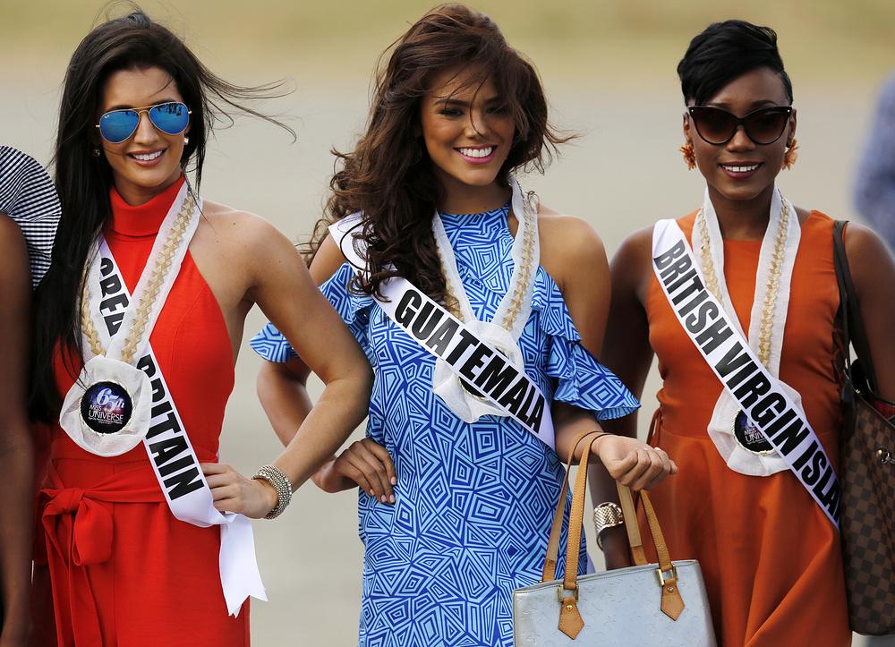 Очаровательные кандидатки на звание Мисс Вселенная 2017