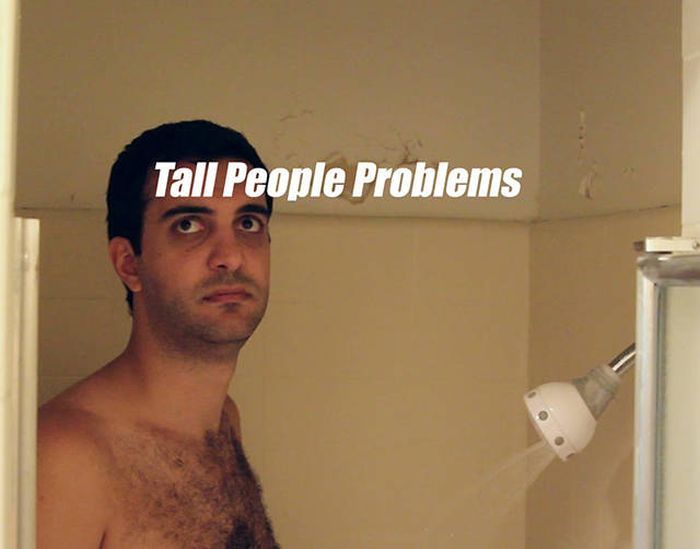 Трудности и проблемы высоких людей