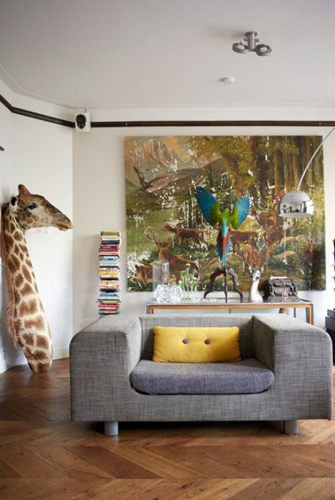 19 настроений современных гостиных