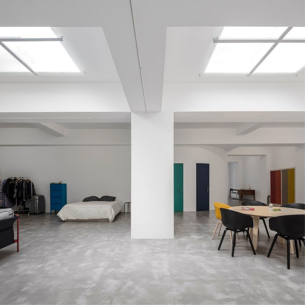 Полноценное жильё в гараже в Лиссабоне