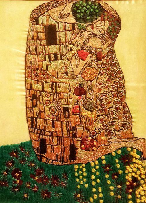 Волшебные вышитые картины Меко Гелашвили