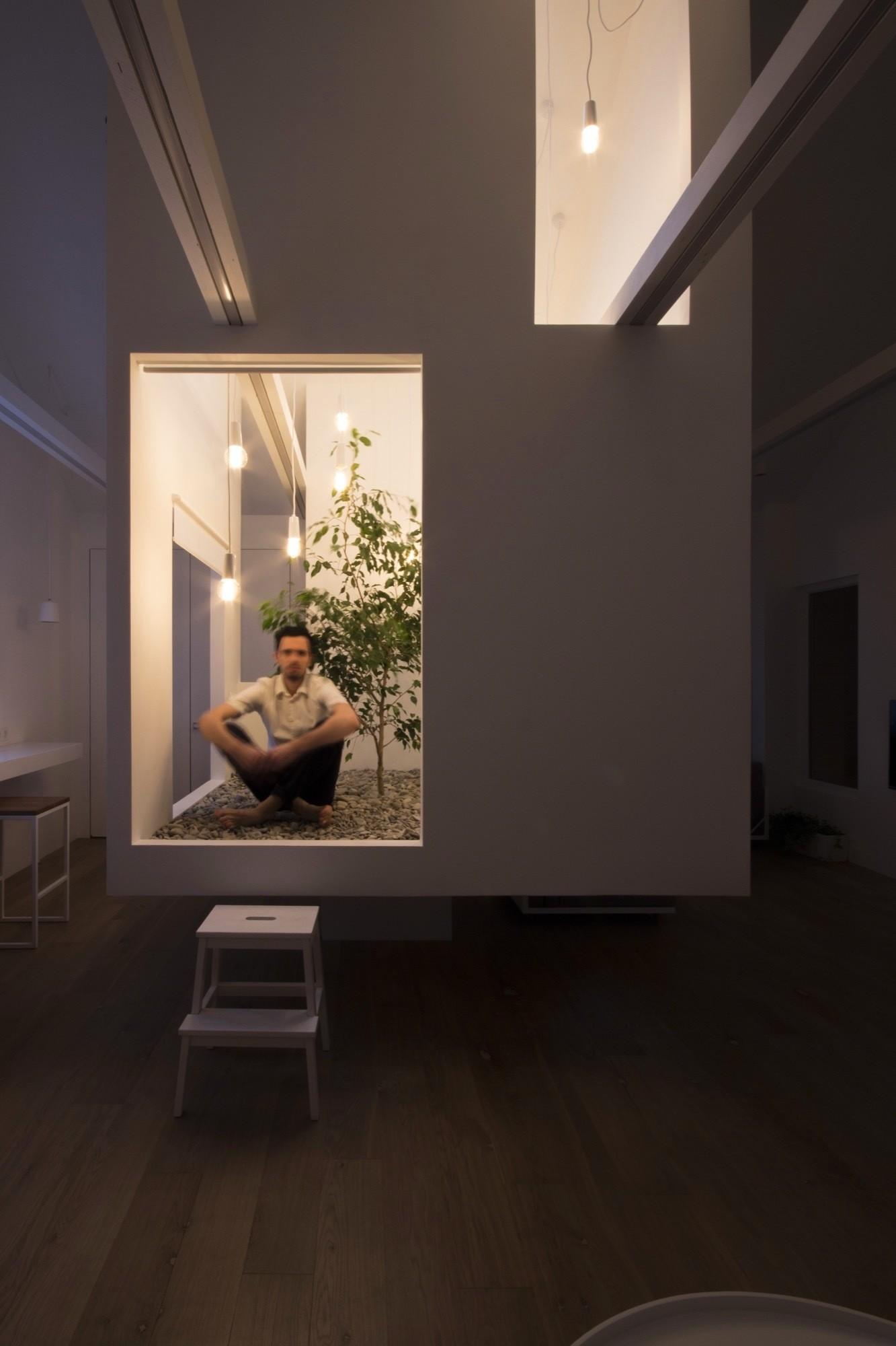 Интерьер мансарды в Подмосковье от студии Ruetemple
