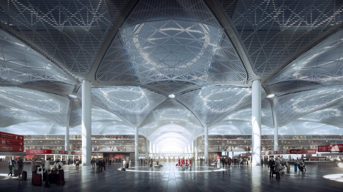 10 потрясающих архитектурных проектов мира