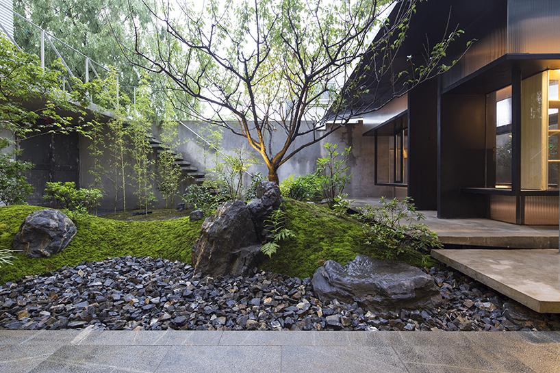 Чайный домик с садом в Шанхае