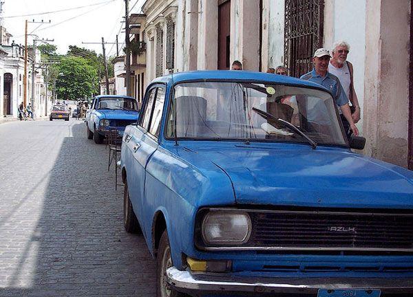 Русские автомобили на Кубе