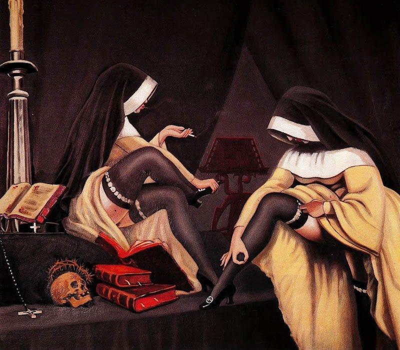 Эротика сюрреализма в картинах французского анархиста Кловиса Труя