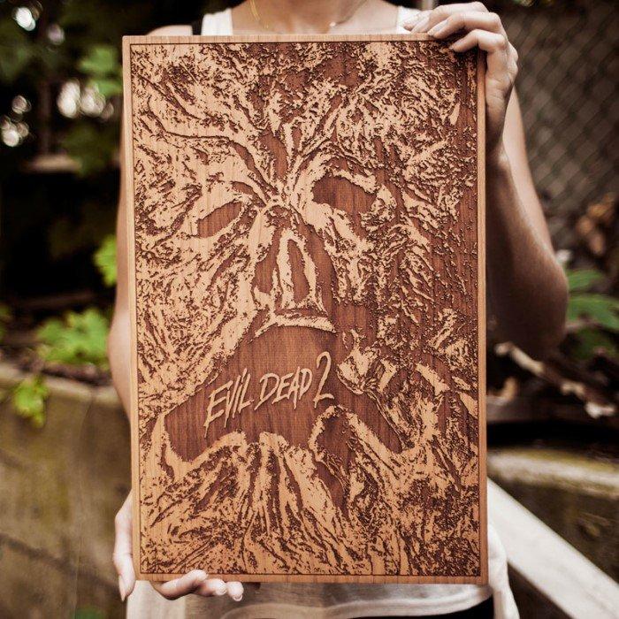 Иллюстрации на дереве от американского художника