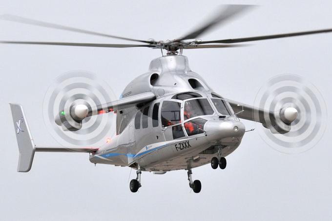 Le X3 - гибрид вертолета и самолета