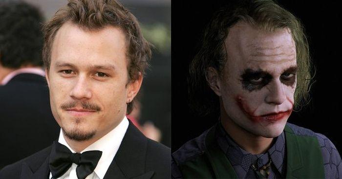 Невероятные перевоплощения актеров