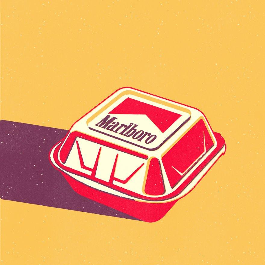Обычные товары с необычным логотипом от Майка Стефанини