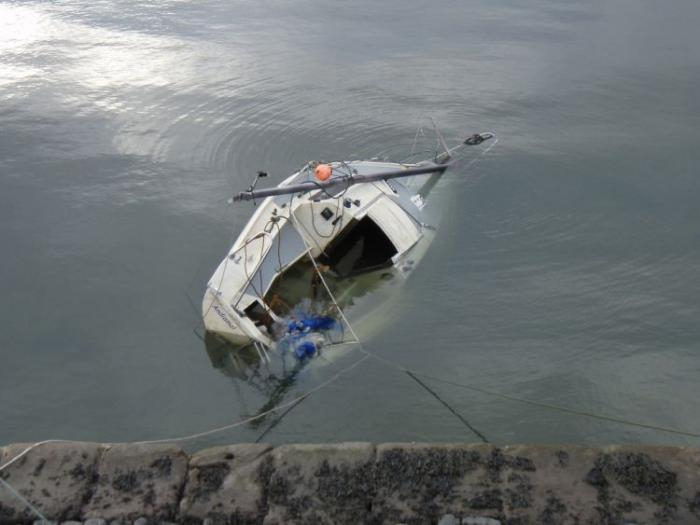 Яхты идут ко дну