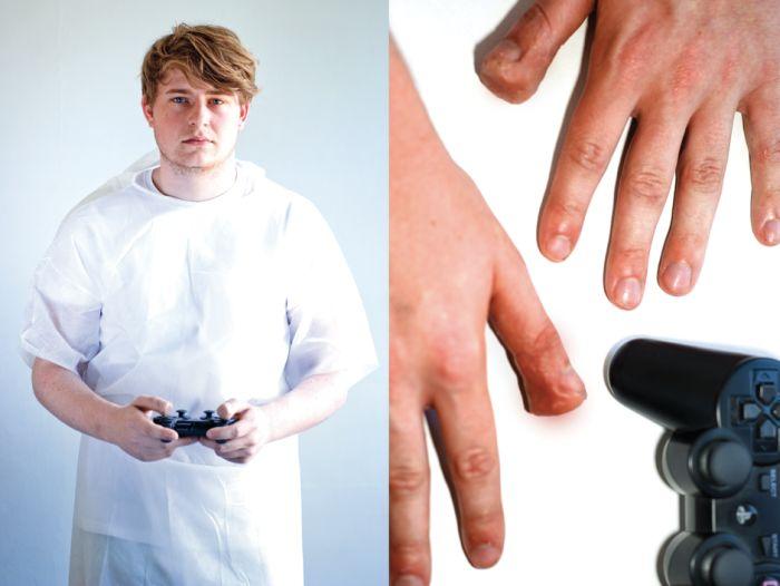 Жуткие травмы от компьютерных игр