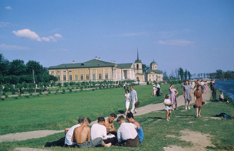 Цветные фотографии шпиона США в СССР 1952-1954 года