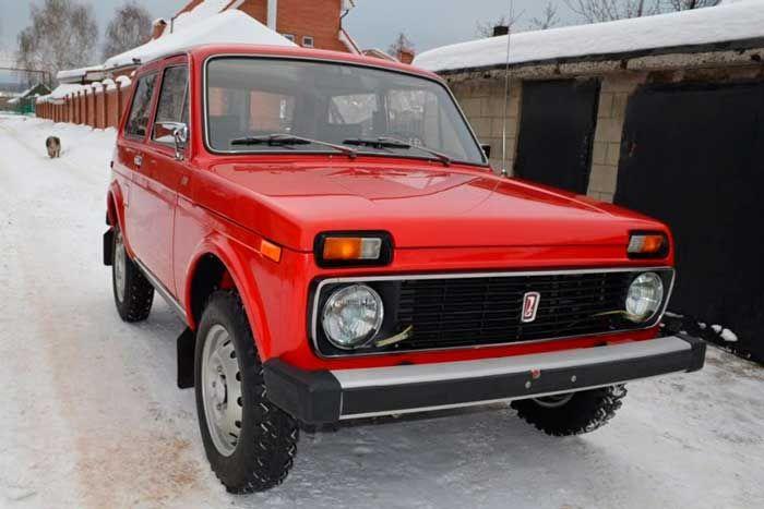 Экспортная версия ВАЗ-2121 Нива 1980-го года