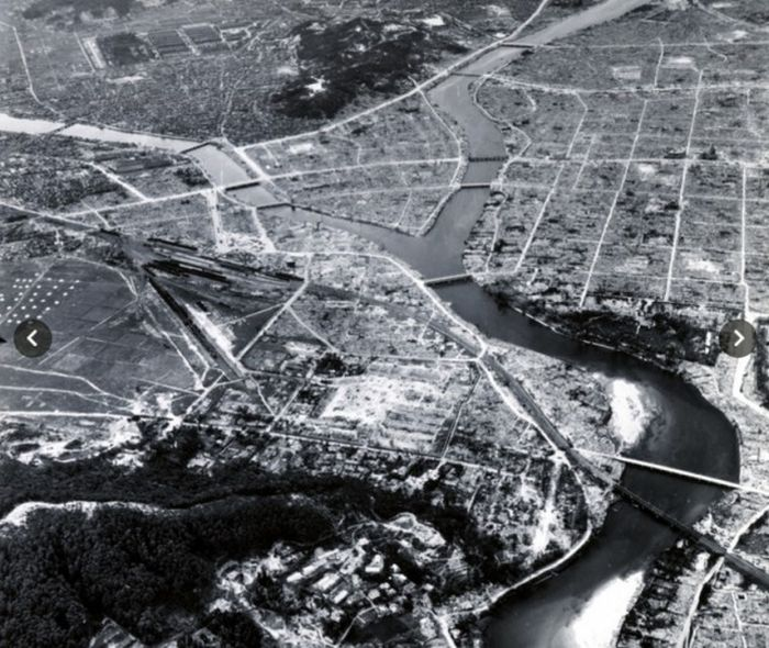 Обнародованы фото атомной бомбардировки Хиросимы