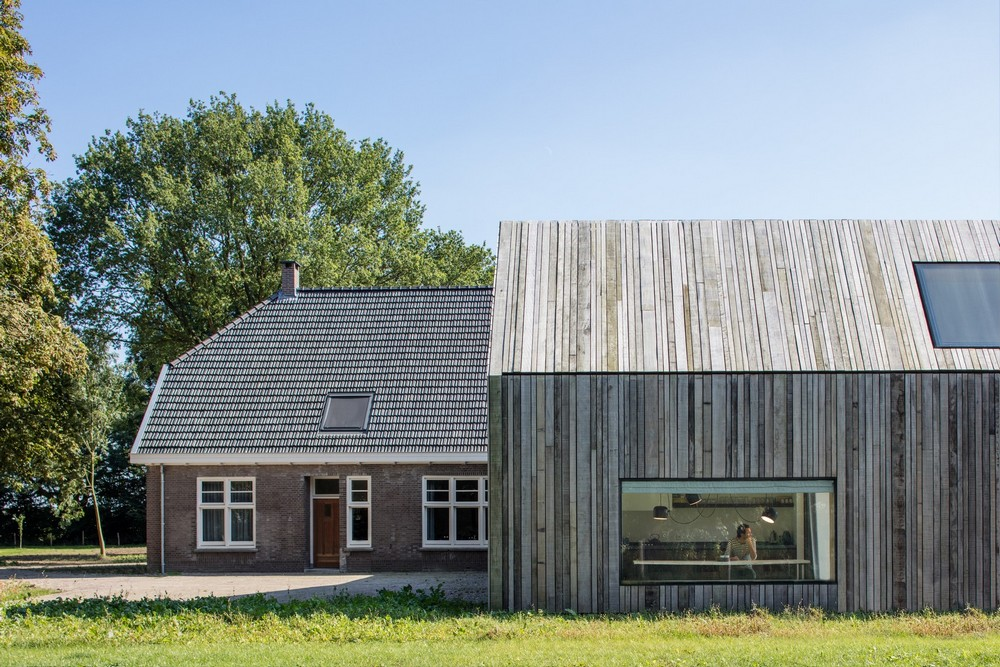 Обновление сельского дома в Голландии