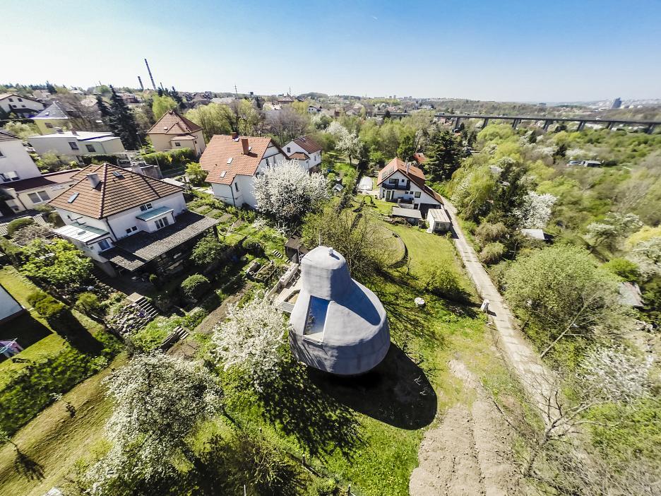 Оригинальный домик в пригороде Праги
