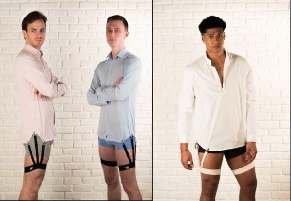 Подвязки для мужиков, чтобы рубашка оставалась заправленной