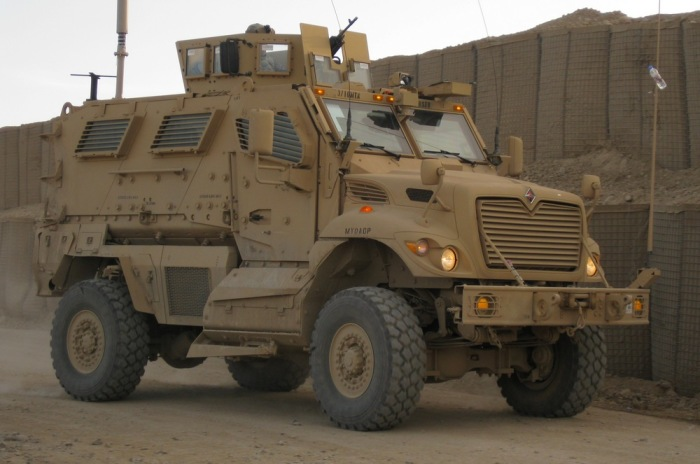 Самые мощные машины американской армии