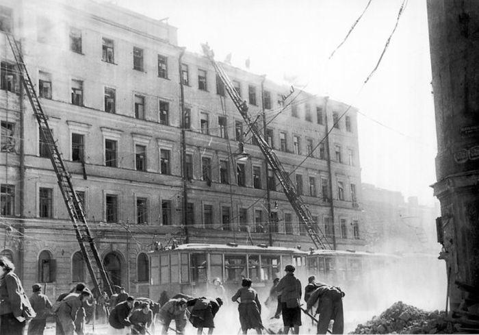 Снимки из блокадного Ленинграда
