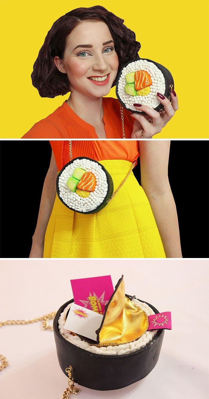Аппетитные сумки от Rommy de Bommy