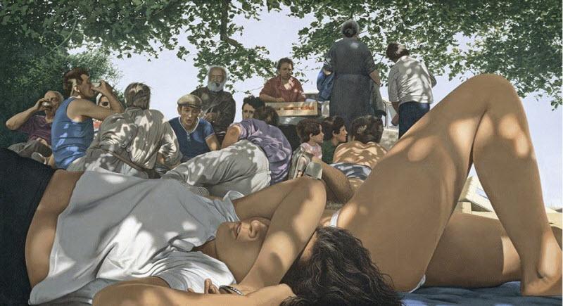 Откровенные картины от Жерара Шлоссера