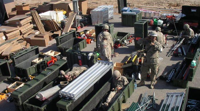 Война в Ираке глазами американского солдата