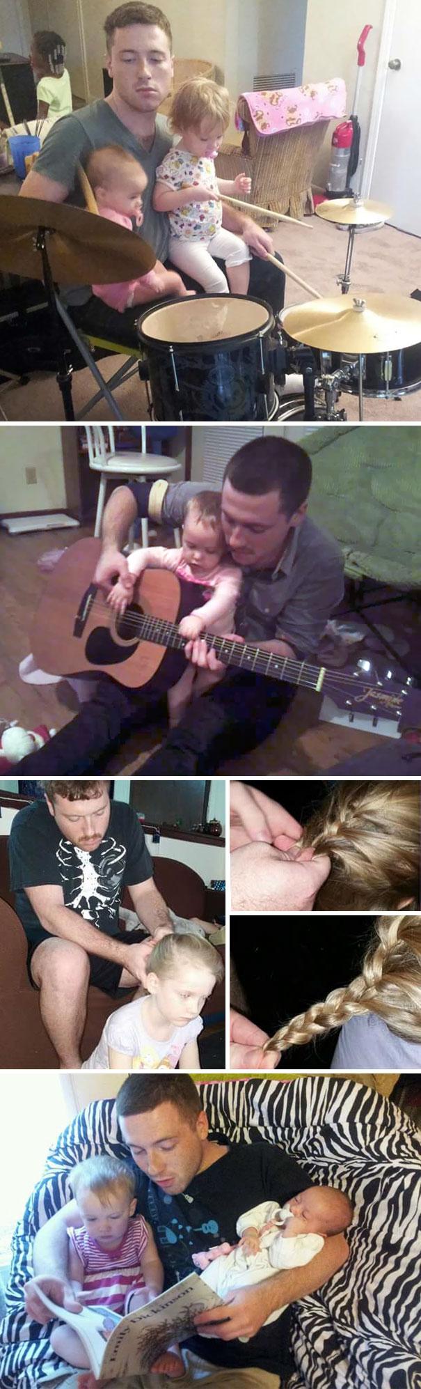 На что готовы отцы-одиночки ради своих дочек