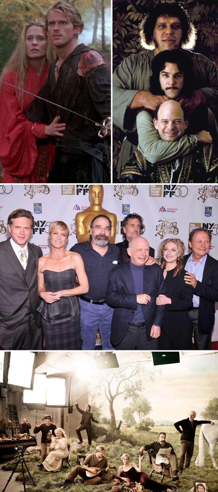 Актеры знаменитых фильмов и сериалов тогда и сейчас