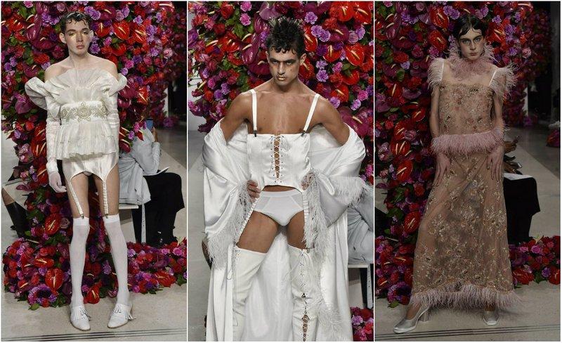 Коллекция мужской одежды на неделе моды в Нью-Йорке