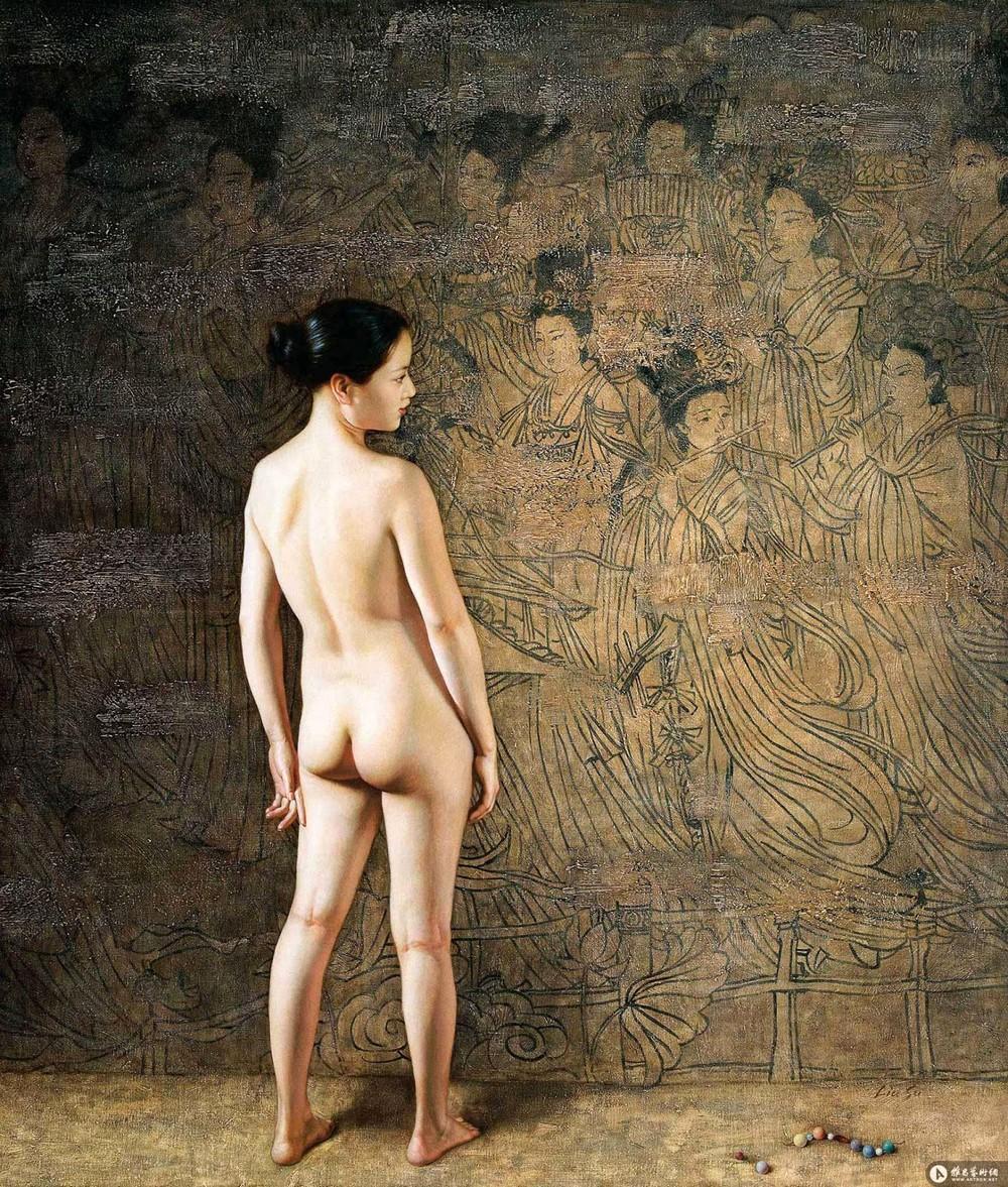Обнаженные девушки от китайской художницы Liu Su