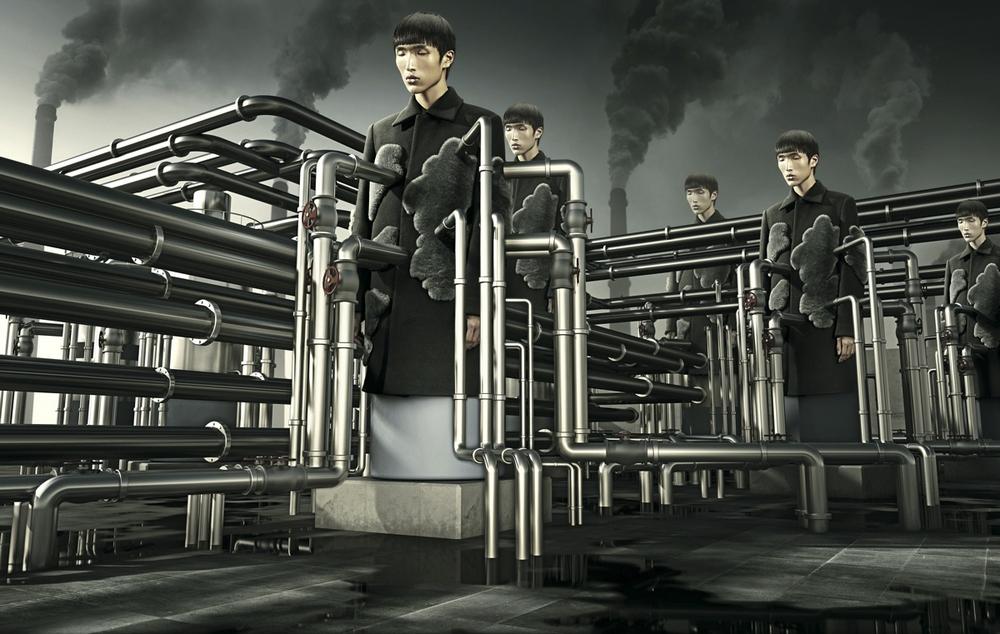 Сюрреалистические фотоманипуляции китайского дизайнера