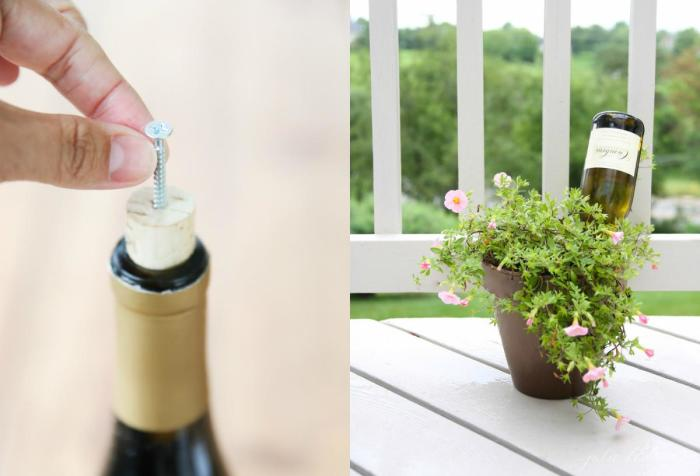 22 стильные вещи, которые несложно сделать из бутылок