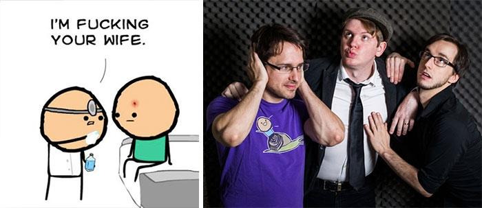 Лица известных художников комиксов, которых вы наверняка не видели