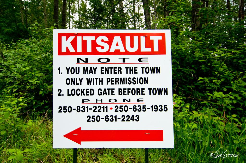 Китсолт - самый необычный город-призрак в мире