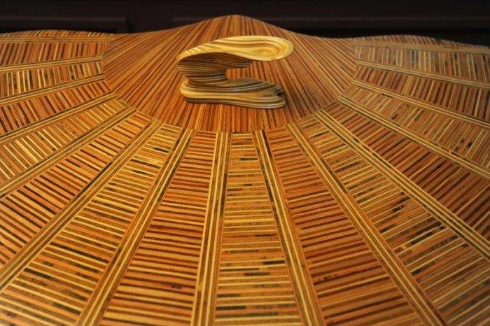 Необычные деревянные скульптуры Дэвида Кноппа