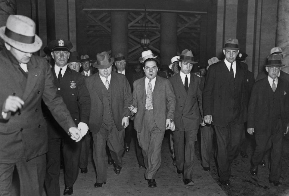 Черно-белые фотографии гангстерской Америки 30-х годов